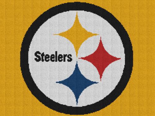Pittsburgh Steelers - Single Crochet Written Graphghan Pattern - 01 (250x188)