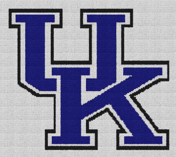 University of Kentucky - Single Crochet Written Graphghan Pattern - 03 (172x152)
