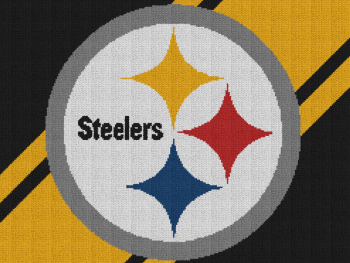 Pittsburgh Steelers - Single Crochet Written Graphghan Pattern - 02 (250x188)
