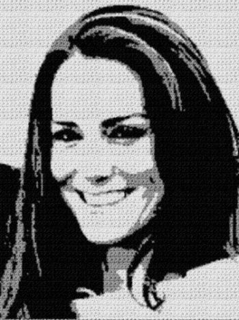 Kate Middleton (Graph AND Row-by-Row Written Crochet Instructions) - 01