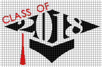 Class of 2018 - (Graph AND Row-by-Row Written Crochet Instructions) - 02