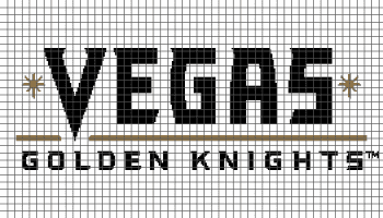 Vegas Golden Knights - (Graph AND Row-by-Row Written Crochet Instructions) - 03