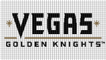 Vegas Golden Knights - (Graph AND Row-by-Row Written Crochet Instructions) - 03