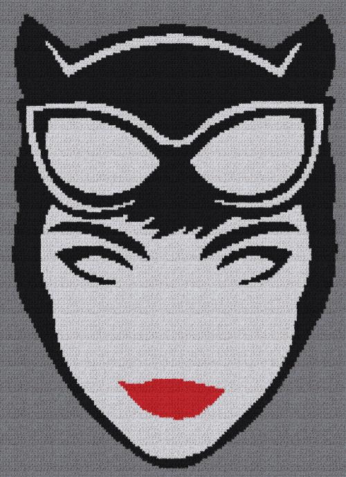 Catwoman Minimalist SC Pattern