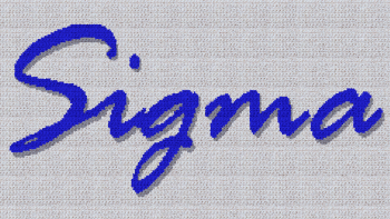 "Phi Beta ""Sigma"" Script - SC (Single Crochet) Written Graphghan Pattern - 05 (240x135)"