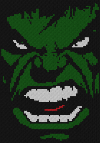 Hulk Face - C2C