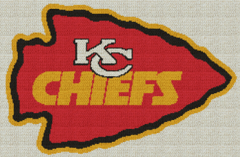 Kansas City Chiefs Graphghan