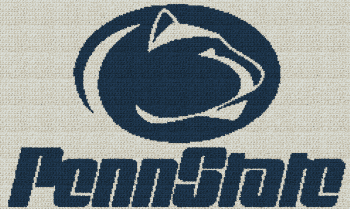 Penn State - Single Crochet Written Graphghan Pattern - 01 (250x149)