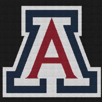 Arizona Wildcats - C2C Written Graphghan Pattern - 02 (226x226)