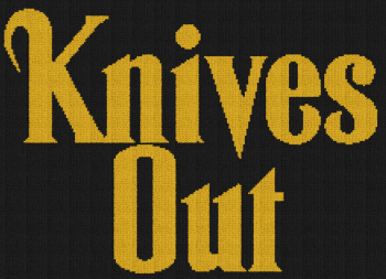 Knives Out - Single Crochet Written Graphghan Pattern - 01 (221x160)
