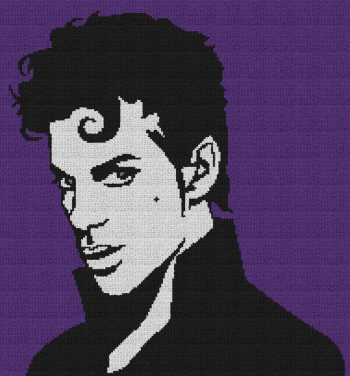 Prince - Single Crochet Written Graphghan Pattern - 07