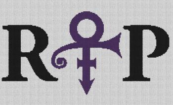 Prince RIP - Single Crochet Written Graphghan Pattern - 09 (230x140)