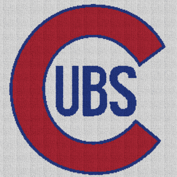 Chicago Cubs - Single Crochet Written Graphghan Pattern - 10 (220x220)