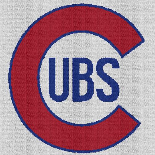 Chicago Cubs - Single Crochet Written Graphghan Pattern - 10 (220x220)
