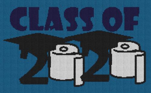 Class of 2020 - Single Crochet Written Graphghan Pattern - 01 (225x135)