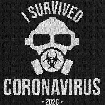 I Survived Coronavirus 2020 - Single Crochet Written Graphghan Pattern - 02 (220x220)