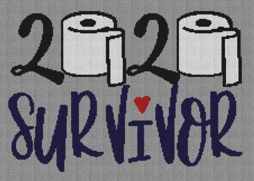 2020 Survivor - Single Crochet Written Graphghan Pattern - 04 (219x154)