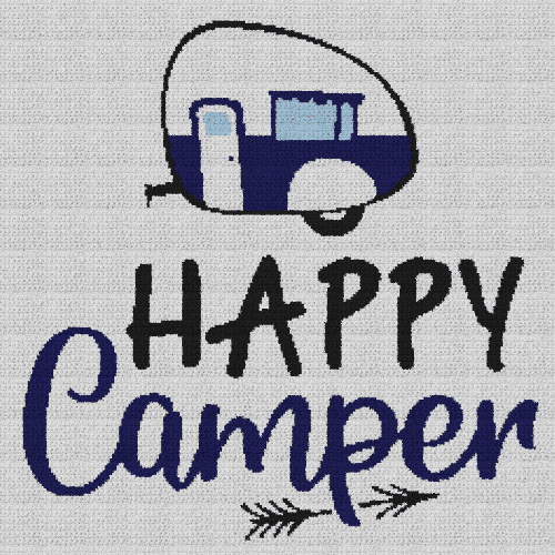 Happy Camper - Single Crochet Written Graphghan Pattern - 02 (230x230)