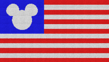 Disney Flag - Single Crochet Written Graphghan Pattern - 05 (230x132)