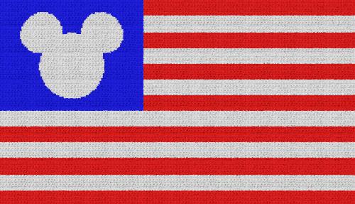 Disney Flag - Single Crochet Written Graphghan Pattern - 05 (230x132)