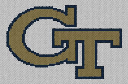 Georgia Tech - C2C Written Graphghan Pattern - 02 (99x65)