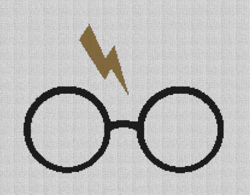 Harry Potter - Single Crochet Written Graphghan Pattern - 10 (200x154)