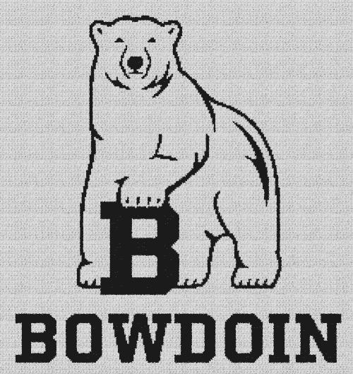 Bowdoin College - Single Crochet Written Graphghan Pattern - 02 (217x240)