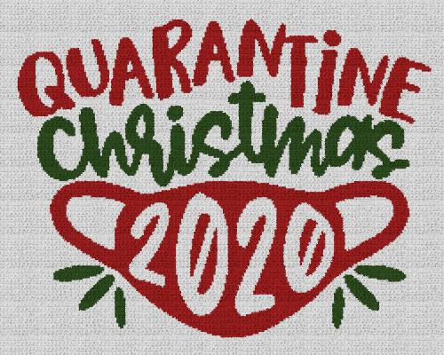 Quarantine Christmas 2020 - Single Crochet Written Graphghan Pattern - 08 (240x190)