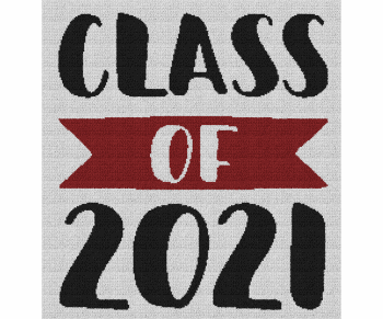 Class of 2021 - Single Crochet Written Graphghan Pattern - 01 (225x240)