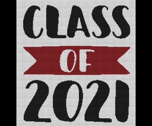 Class of 2021 - Single Crochet Written Graphghan Pattern - 01 (225x240)