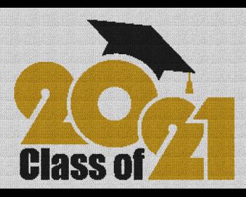 Class of 2021 - Single Crochet Written Graphghan Pattern - 02 (250x180)