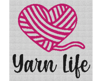Yarn Life - Single Crochet Written Graphghan Pattern - 04 (240x235)