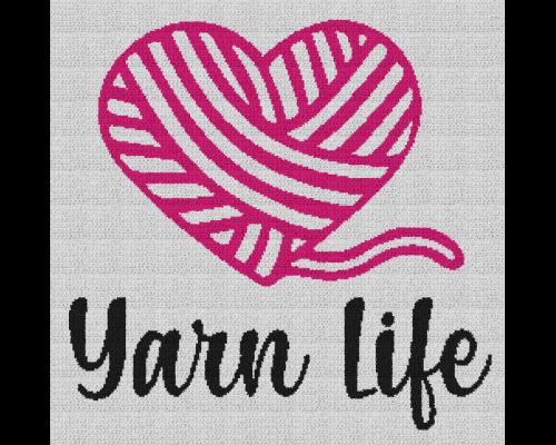 Yarn Life - Single Crochet Written Graphghan Pattern - 04 (240x235)