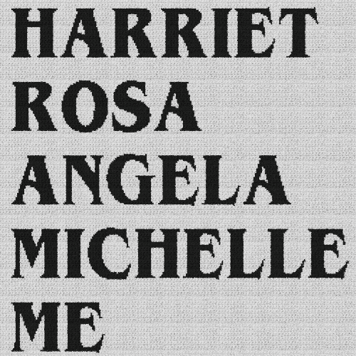 Harriet Rosa Angela Michelle Me - Single Crochet Written Graphghan Pattern - 02 (250 x 250)
