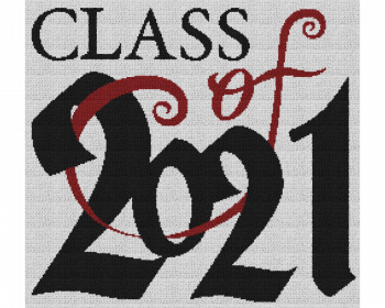 Class of 2021 - Single Crochet Written Graphghan Pattern - 04 (250 x 230)