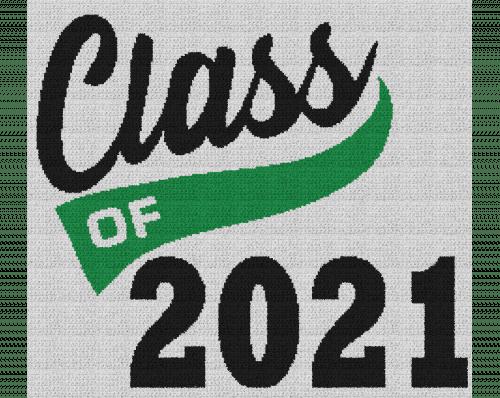Class of 2021 - Single Crochet Written Graphghan Pattern - 06 (240 x 215)